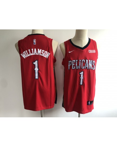 Zion Williamson 1 New Orleans Pelicans Cod 404