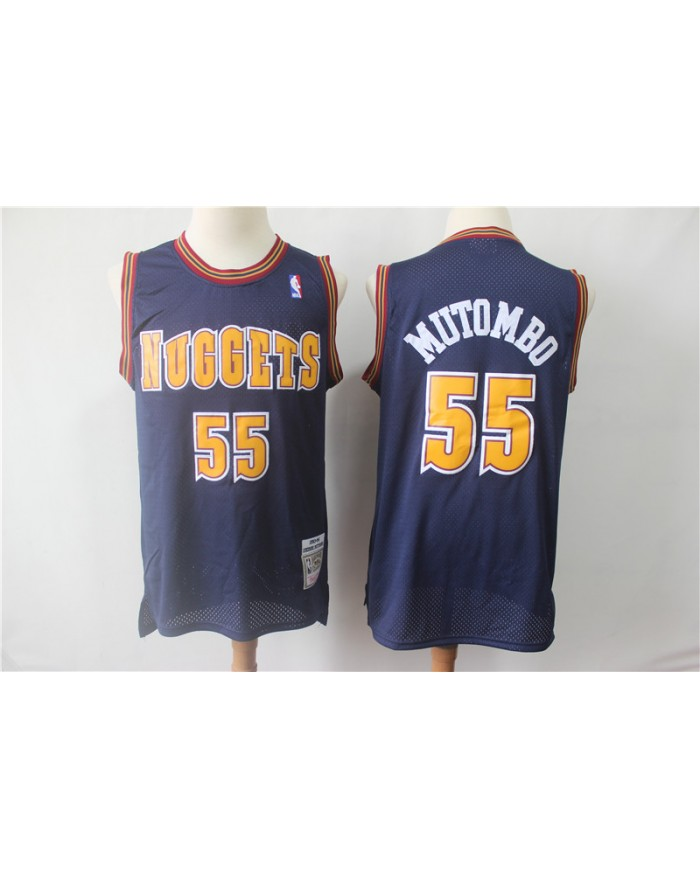 Mutombo 55 Denver Nuggets Cod.503