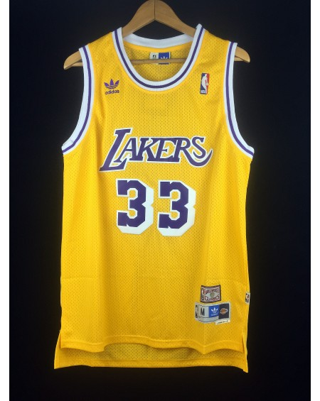 Abdul Jabbar 33 Los Angeles Lakers cod.95